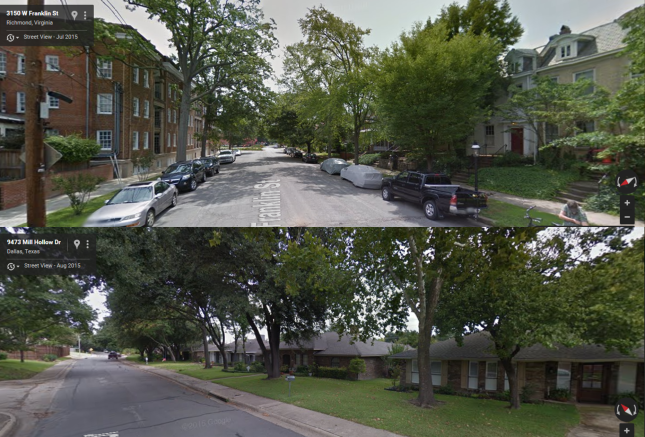 Subdivision vs. Traditional Neighborhood
